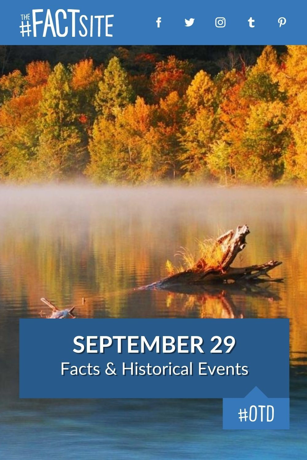 Facts & Historic Events That Happened on September 29