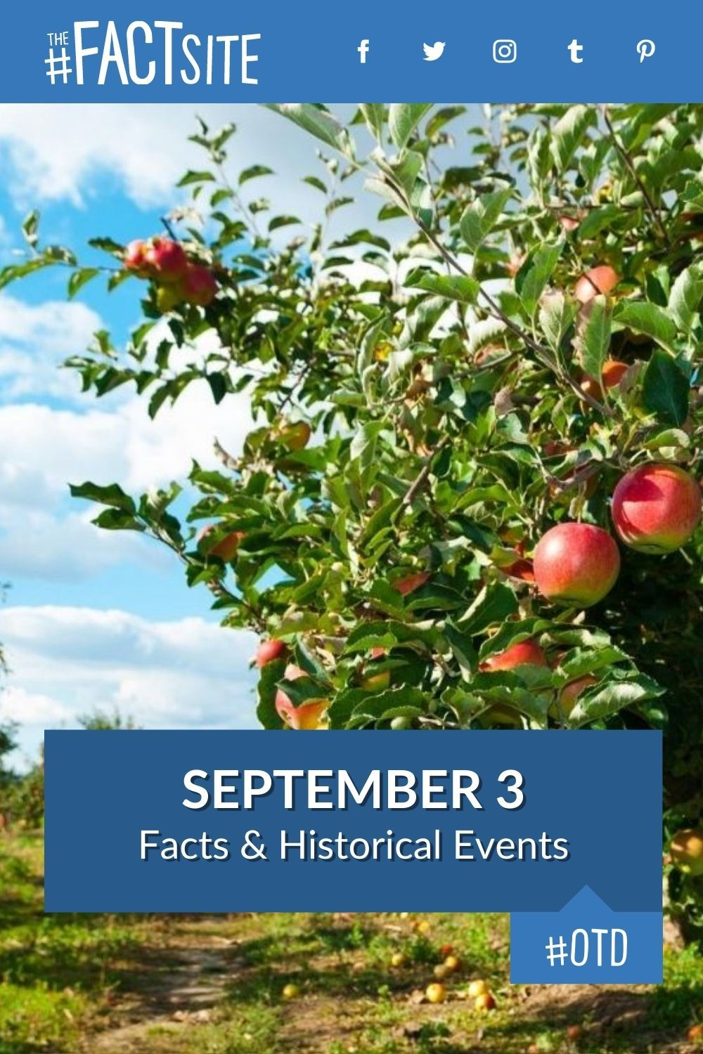 Facts & Historic Events That Happened on September 3