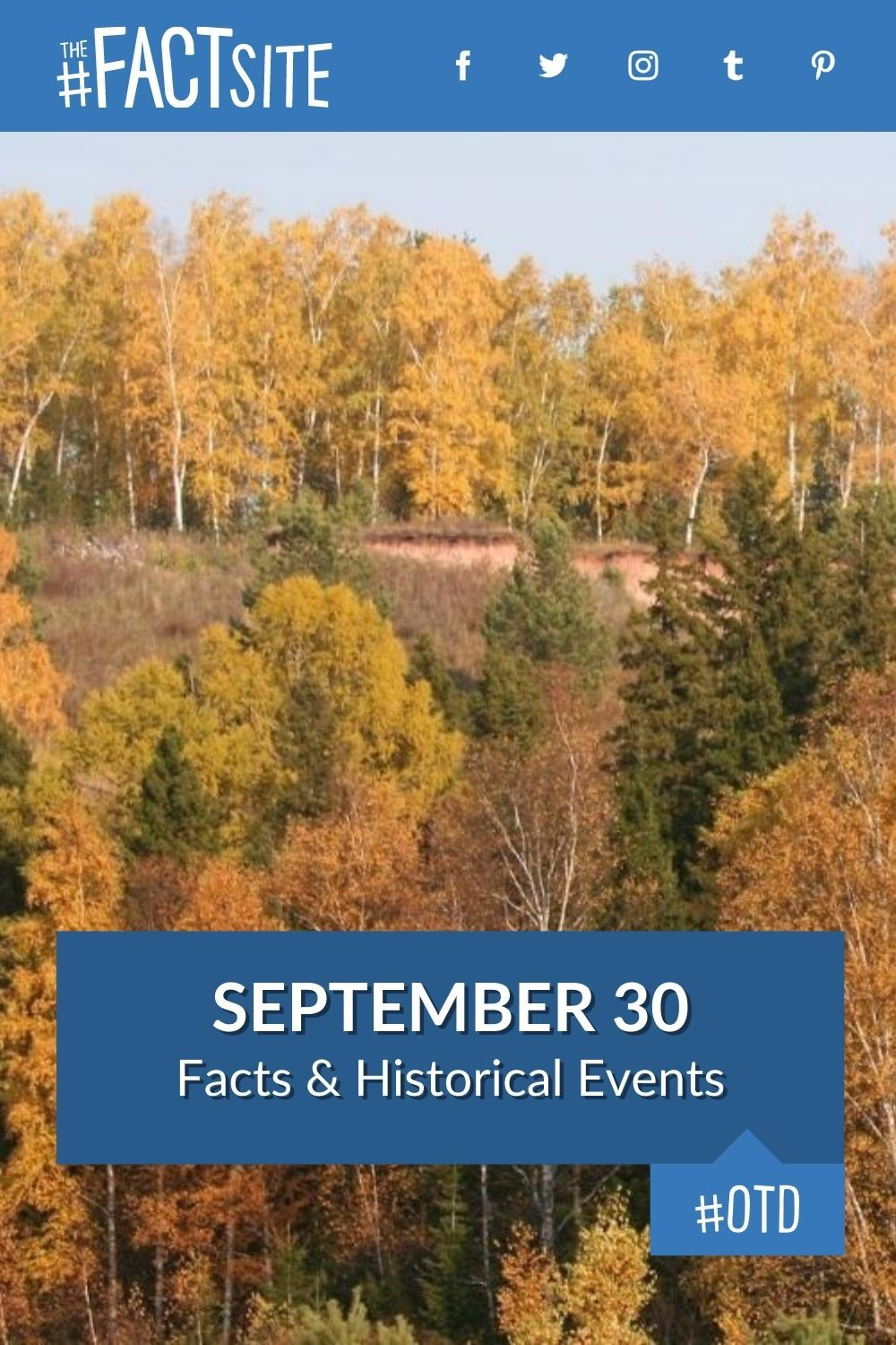 Facts & Historic Events That Happened on September 30