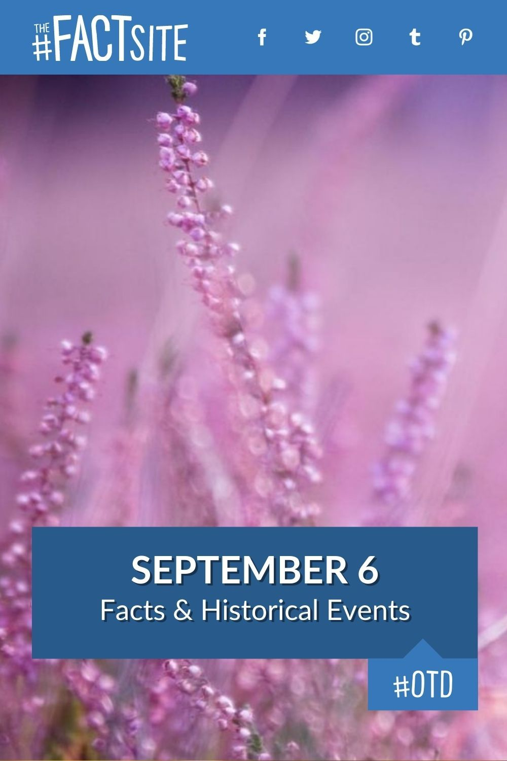 Facts & Historic Events That Happened on September 6