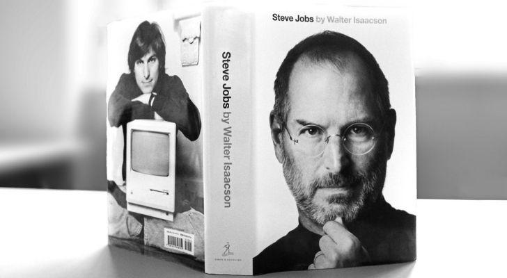 Steve Jobs' biography book