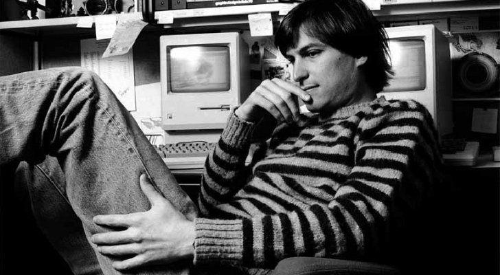 Steve Jobs looking mindful