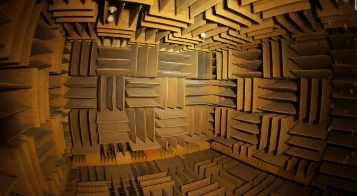 The Anechoic Chambers are the quietest place in the world