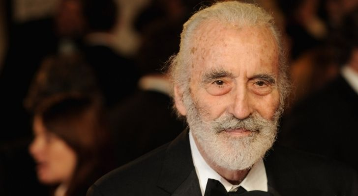 A picture of Christopher Lee