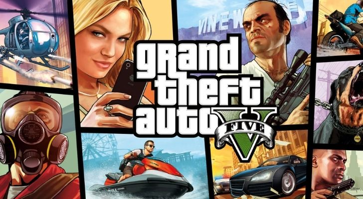 the cover image for Grand Theft Auto V