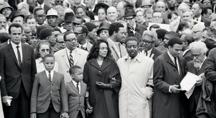 Martin Luther King's funeral