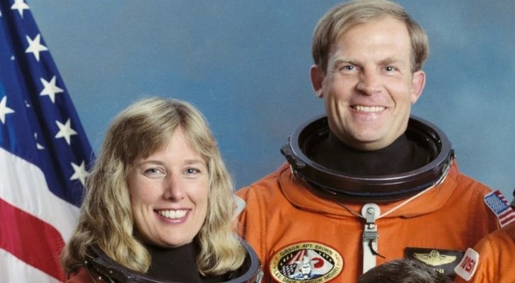 The first every couple in space