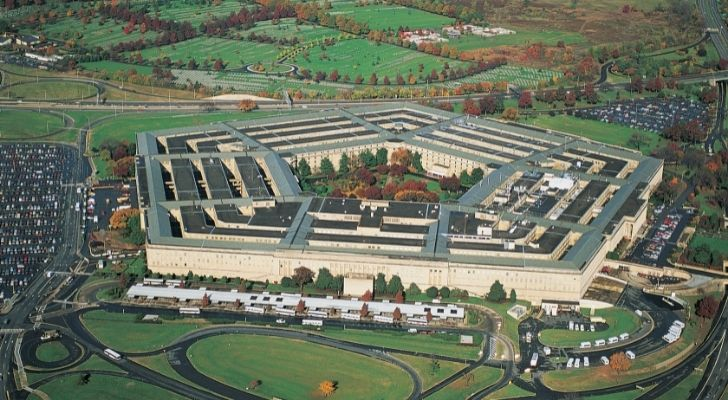 The Pentagon from the sky