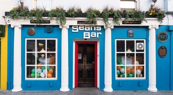 Sean's Bar in Ireland