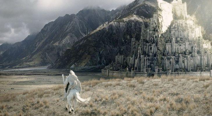 Tolkien's Middle Earth landscape