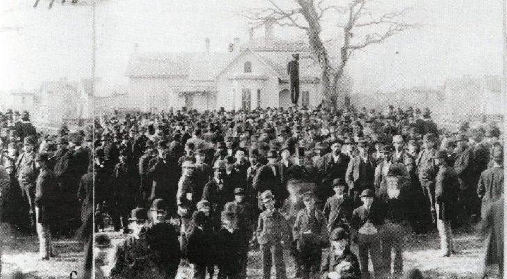 The KKK was rife through Kentucky in the 19th century