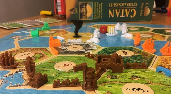 Settlers of Catan Cities and Knights