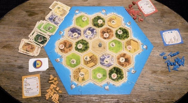 The Settlers of Catan classic board game
