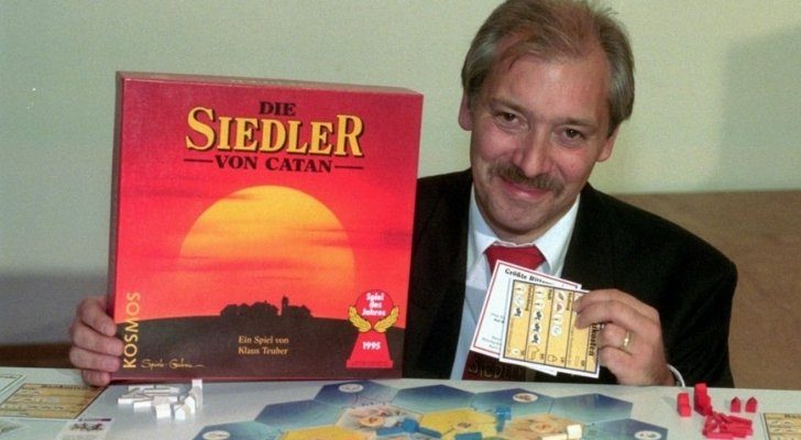 Klaus created the boardgames in 1995