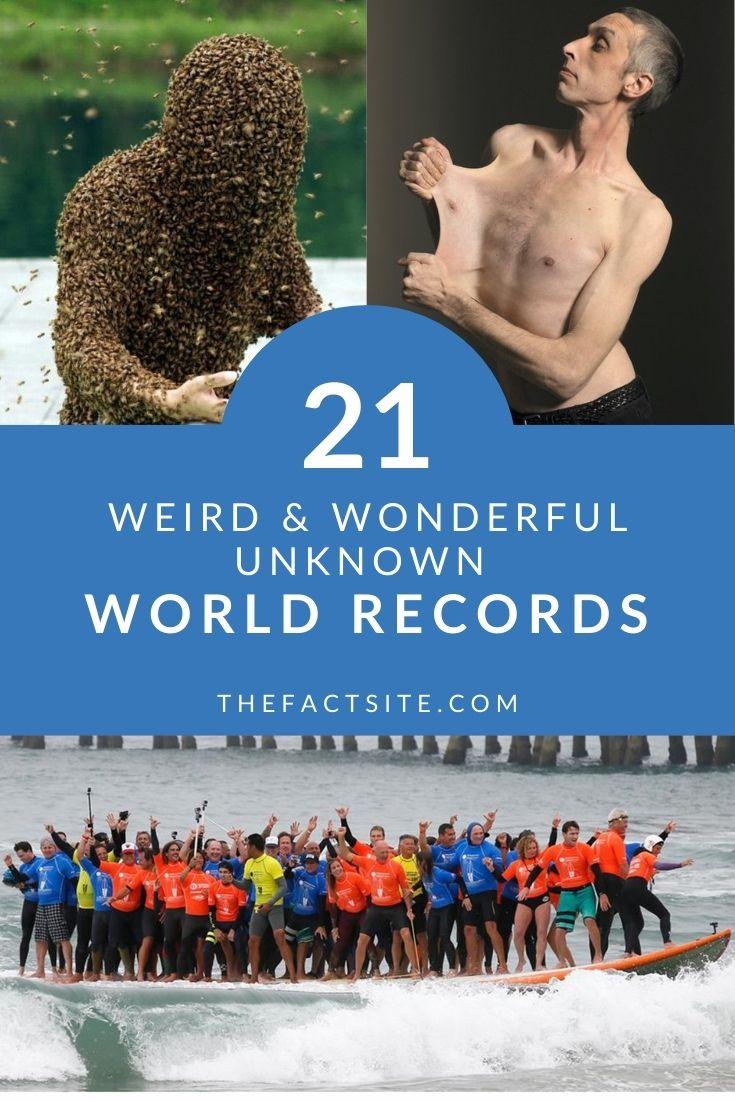 21 Weird & Wonderful Unknown World Records